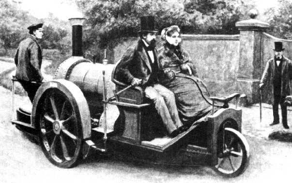 les débuts de la course automobile